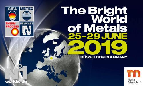 Bright World of Metals, 25-29 iunie 2019, Düsseldorf