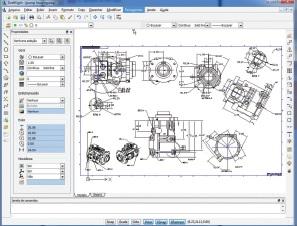 DraftSight - profesionalism în 2D