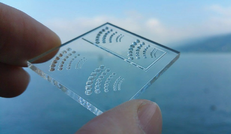 Luxiprint microlenses