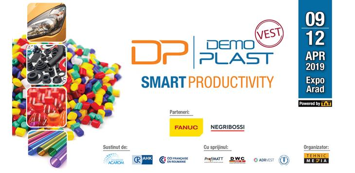 T&T recomanda SMART PRODUCTIVITY la DEMO PLAST 2019