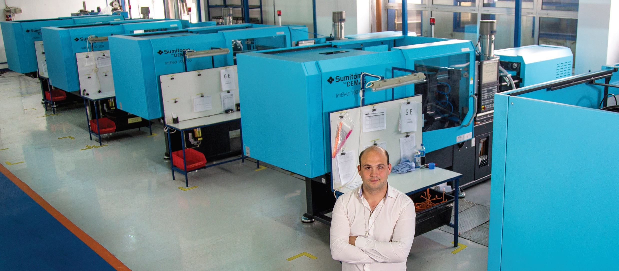 Faster and more efficient. The All-electric injection molding machine wins the race