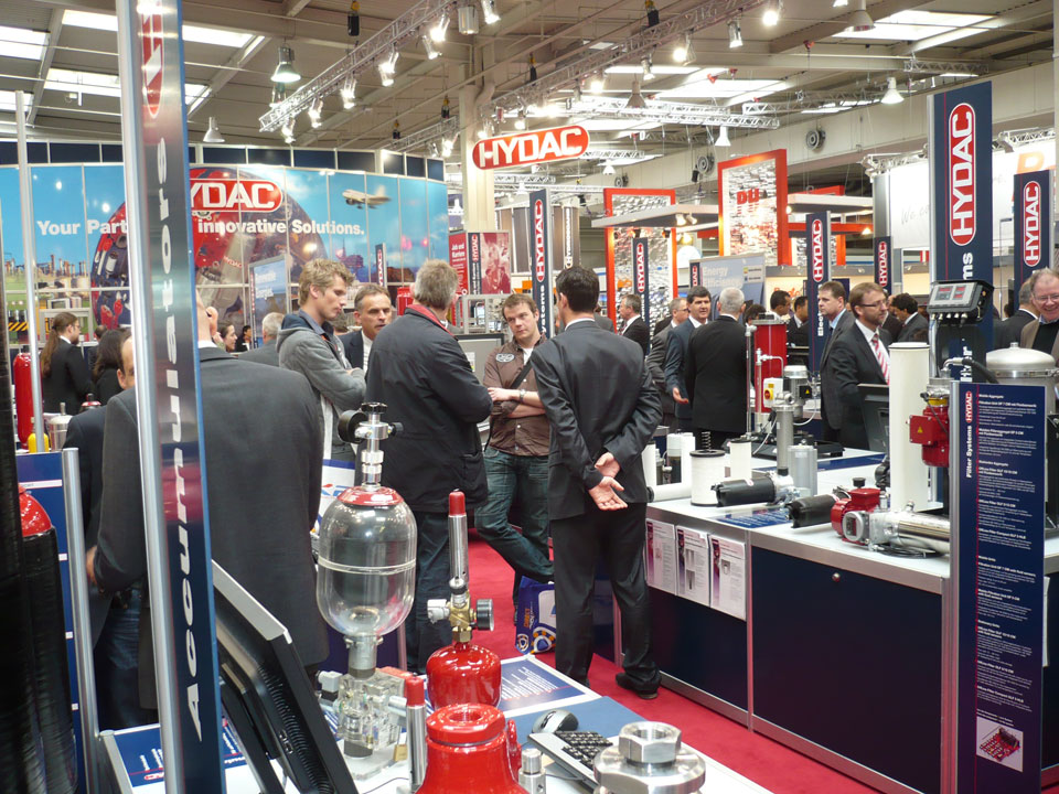 HYDAC - la Hannover Messe 2011
