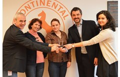Continental Tires, Best Supplier Award from Automobile Dacia