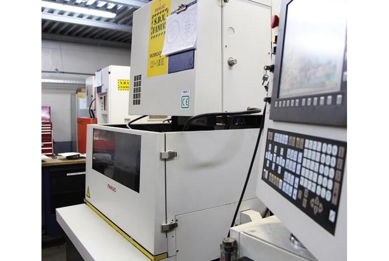 Flying sky high.The world leading aerospace supplier supports production with FANUC automation