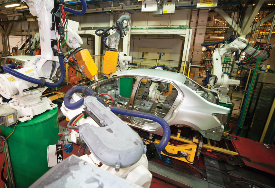 Ongoing Upgrade of Dacia Plants