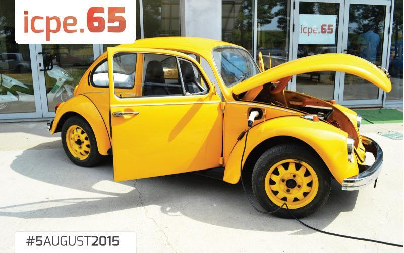 The first VW Beetle with a Romanian ICPE-made electric propulsion